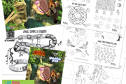 Bespoke Paddle Pop Kids Activity Pack